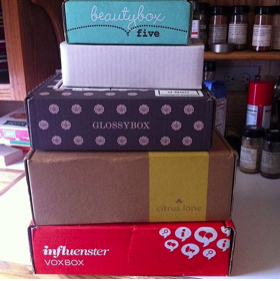 shipping subscription boxes