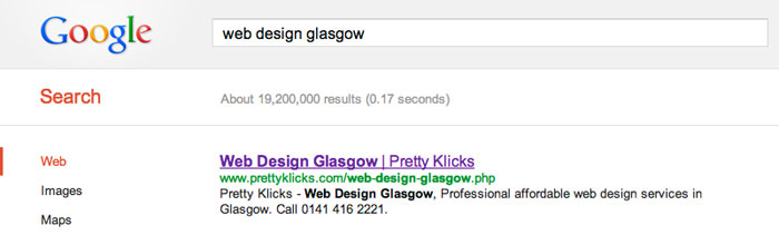Search Engine Optimisation Glasgow